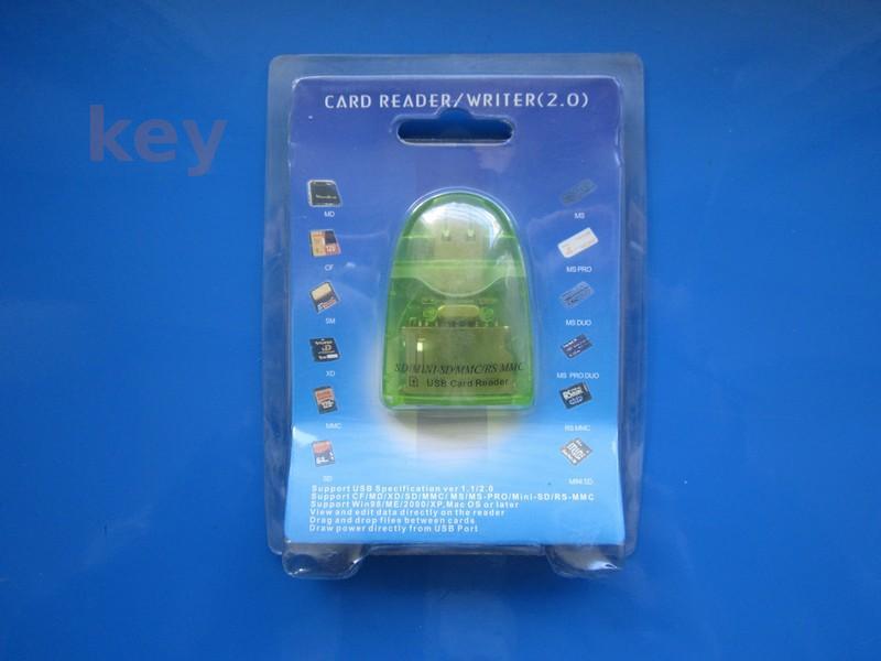 Altele: Cititor carduri SD Mini SD MMC RS-MMC