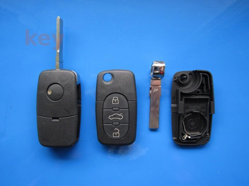 Carcasa cheie VW 3 butoane rotunde HU66