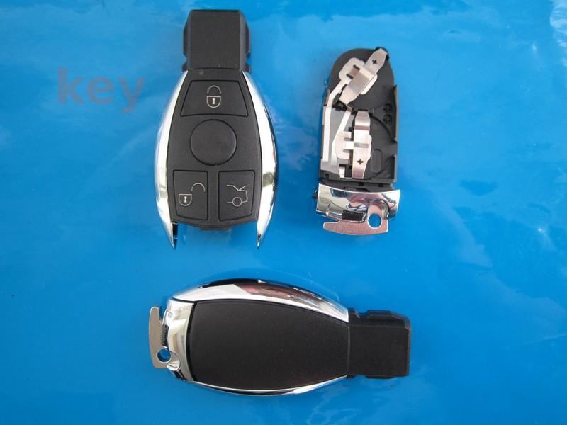 Carcasa cheie Mercedes 3 butoane CROM nou