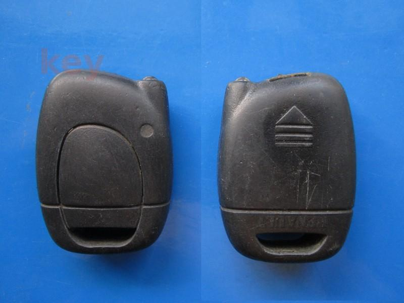 Cheie cu telecomanda Renault 1but oval infrarosu SECOND