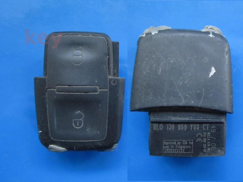 Cheie cu telecomanda VW 2b patrate 1J0959753CT 433 SECOND
