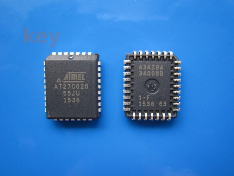 Circuit AT27C020-55JU PLCC32