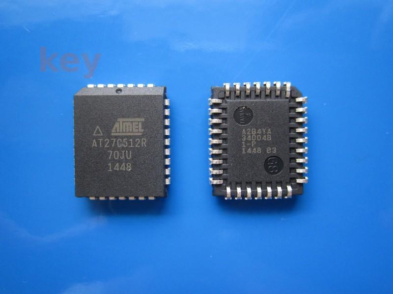 Circuit AT27C512R-70JU PLCC32