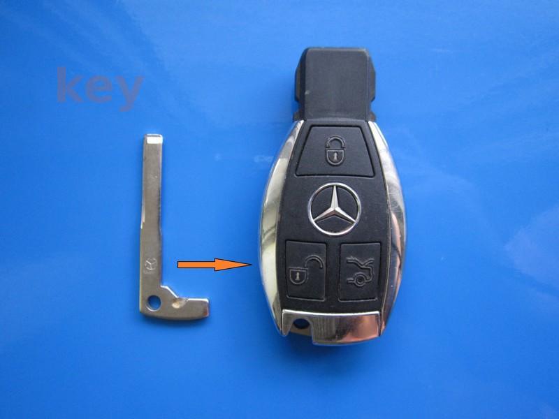 Lamela cheie Mercedes Smart cu CROM model nou